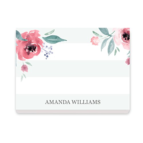 Custom Scriptures Post It Notes Personalized Stationery - Set of 6-50 Sheets per Post It Note. Size: 3in x 4in. Made in The USA.