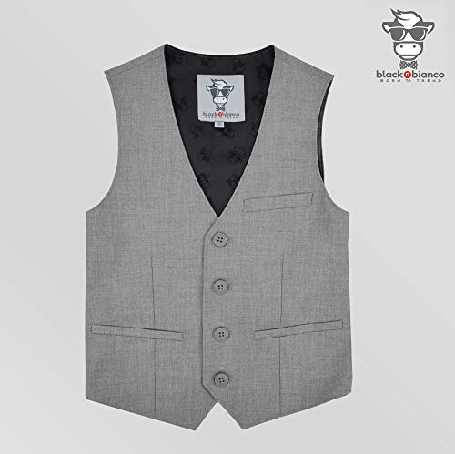 2d53f23166bd4e Black n Bianco Boys' First Class Slim Fit Suits Lightweight Style.  Presented by Baby