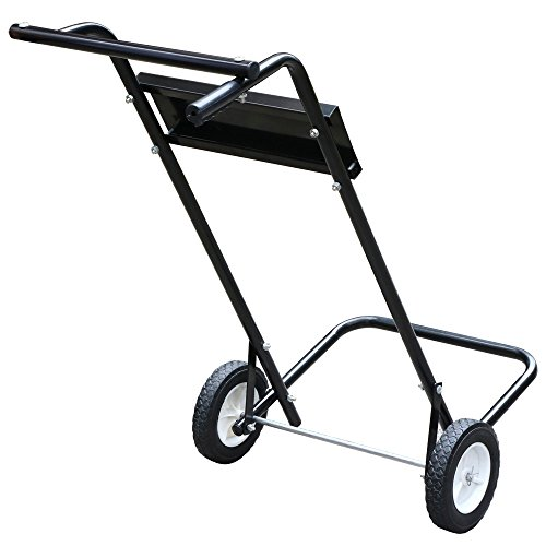 Outboard Motor Carrier : Topeakmart motor cart lb capacity carrier stand