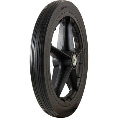 (Marathon Tires Flat-Free Tire on Plastic Spoke Rim - 1/2in. Bore, 16 x 1.85in.)