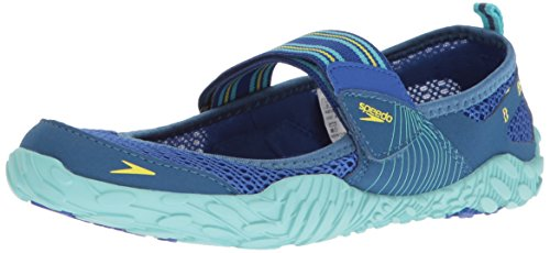 Speedo Women's Offshore Strap Athletic Water Shoe, Blue, 9