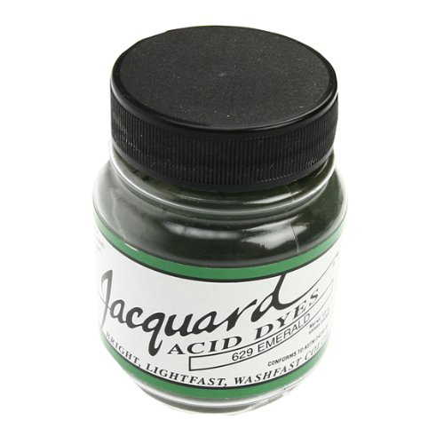 Jacquard Products Emerald Acid Dyes, Acrylic, Multicolour 102850