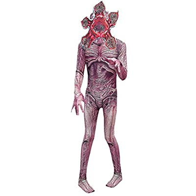 ugoccam Halloween Cosplay Zentai Monster Jumpsuit Bodysuit: Clothing