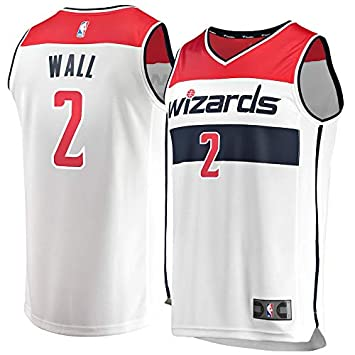 VVACNBA NBA Washington Wizards John-Wall 2 Fan Men Jersey (Blanco, XXL): Amazon.es: Deportes y aire libre