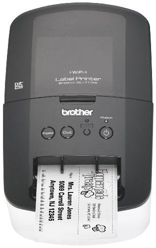 Brother High-Speed Label Printer with Wireless Networking (QL710W) by Brother