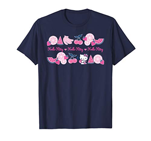 Hello Kitty Summer Fruits T-Shirt]()