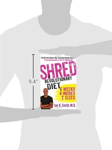 Details of Shred The Revolutionary Diet 6 Weeks 4 Inches 2 Sizes