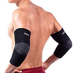 weight tendinitis neoprene mens powerlifting athletic arm protector guard elastic swelling softball wrestling strongman bench press reducing golfer relief mava strap splint wrap band elbows forearm braces hinged therapy supports orthosis armb...