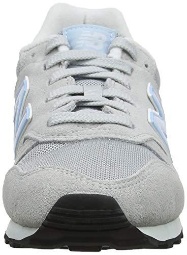 373 Sky light Laa New Balance platinum Aluminum Zapatillas Para Mujer Blanco 5vzqZzfw