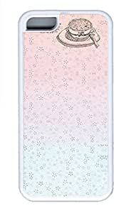 iPhone 5c Cases - Summer Unique Wholesale TPU White Cases Personalized Design Summer Pink