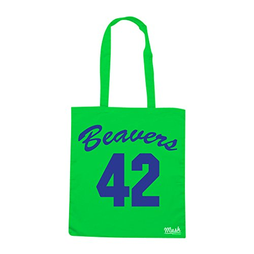 Borsa TEEN WOLF 1885 BASKET - Verde prato - FILM by Mush Dress Your Style