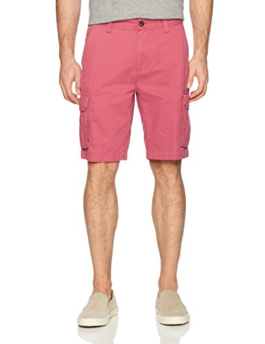 Amazon Essentials Men's Classic-Fit Cargo Short, Washed Red, 31 ()