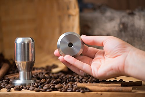 Professional 49-58 Mm Coffee Espresso Tamper Base 100% 304 Stainless Steel (55mm)
