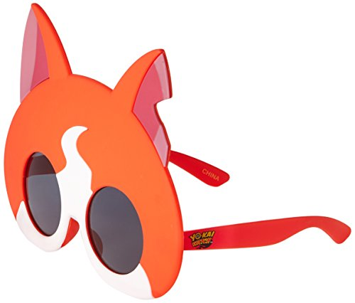 Sunstaches Yo Kai Watch Jibanya Circle Costume Sunglasses, - Kai Sunglasses