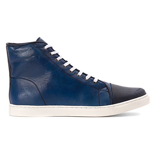 Hardy Mens Carter Mode Sneakers Blå
