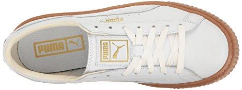 PUMA Damen Basket Plattform Core Fashion Sneaker Puma Weiß-Puma Weiß