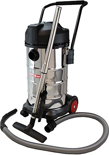 ReadiVac 10 gallon Wet/Dry Vac, Stainless Steel - Corded