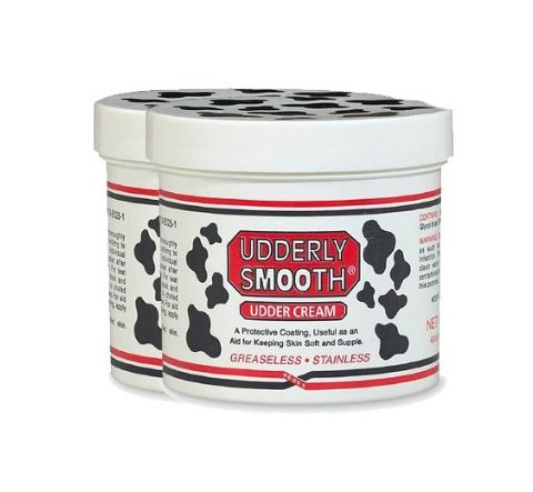 Udderly Smooth Body Cream Skin Moisturizer, 12 oz, 2 Pack ()