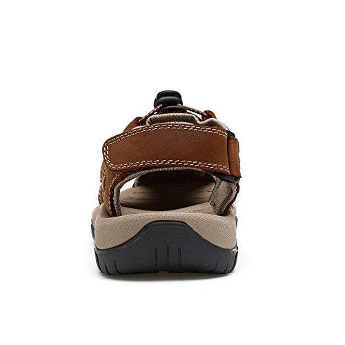 regolabile sandali sport allacciare sistema per Sandalo allacciatura 2018 comfort Mens Beach lo Tocco bungee uomo di shoes Outdoor i Hiking Walking da sportivo con xqwZw7AHO