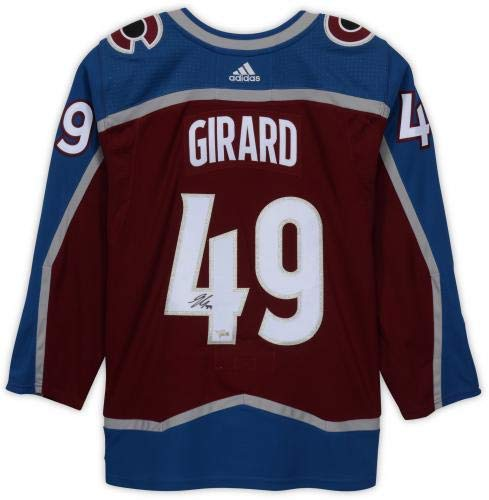 551b2cfdb48 Samuel Girard Colorado Avalanche Autographed Burgundy Adidas Authentic  Jersey - Fanatics Authentic Certified at Amazon's Sports Collectibles Store