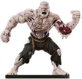 D & D Minis: Berserk Flesh Golem # 46 - Night Below