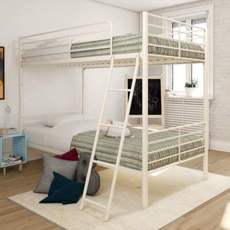 Twin Over Twin Convertible Bunk Bed