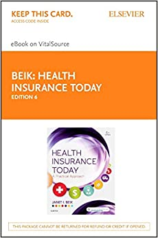 Janet I. Beik - Health Insurance Today - Elsevier Ebook On Vitalsource Retail Access Card: A Practical Approach