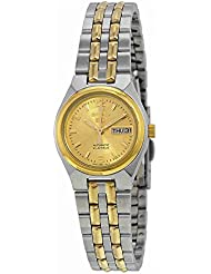 Two Tone Stainless Steel Case and Bracelet Gold Dial Automatic