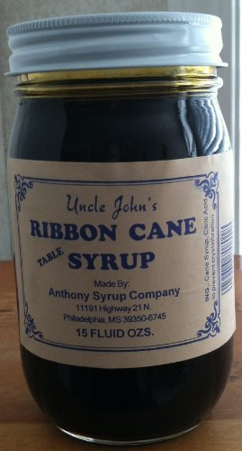 (Uncle Johns Ribbon Cane Syrup in a Glass 15 Oz Jar)