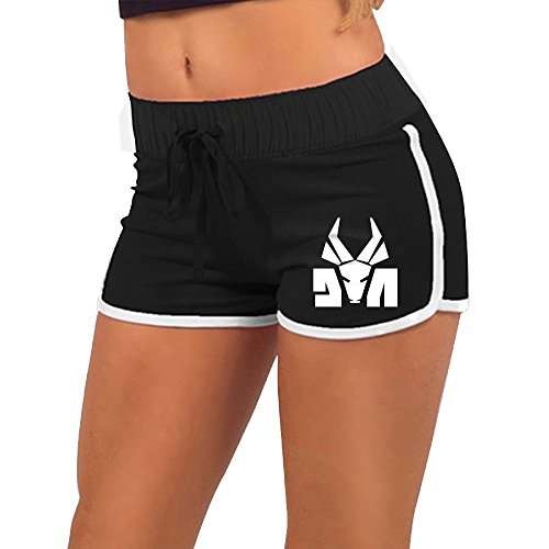 Die-Antwoord-Logo-Womens-Fashion-Summer-Sexy-Athletic-Shorts