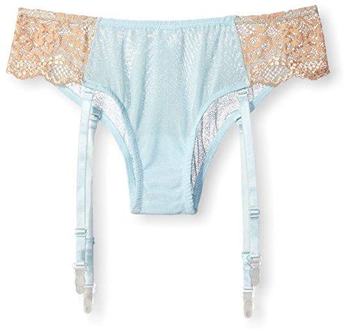 The Little Bra Company Women's Courtney Panty, Baby Blue/Nude, M