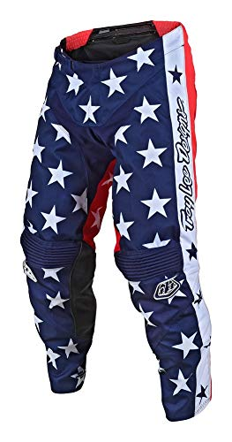 Troy Lee Designs GP Independence Limited Edition Men's Off-Road Motorcycle Pants - Navy/Red / 34
