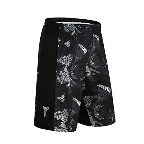 - Goddessvan Mens 3D Printed Swim Trunks Quick Dry Beachwear Sports Running Swim Board Shorts Mesh Lining Black