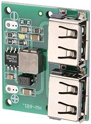 24V /à 5V 3A DC-DC Module de Chargeur dAlimentation Abaisseur Double USB 12V 9V