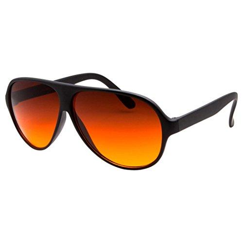 grinderPUNCH Blue Blocking Plastic Aviator Sunglasses Great for Driving - Aviator Sunglasses Glass Blue