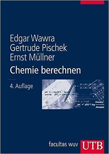 Chemie berechnen: Amazon.de: Edgar Wawra, Gertrude Pischek, Ernst ...