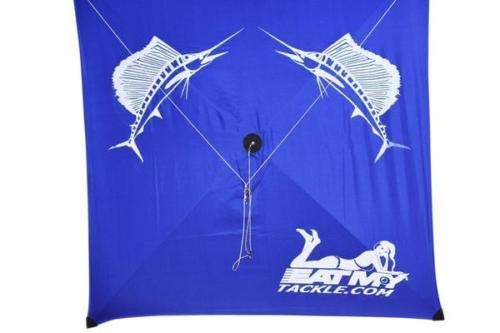EatMyTackle Saltwater Fishing Kite - Blue Marlin Tournament Edition