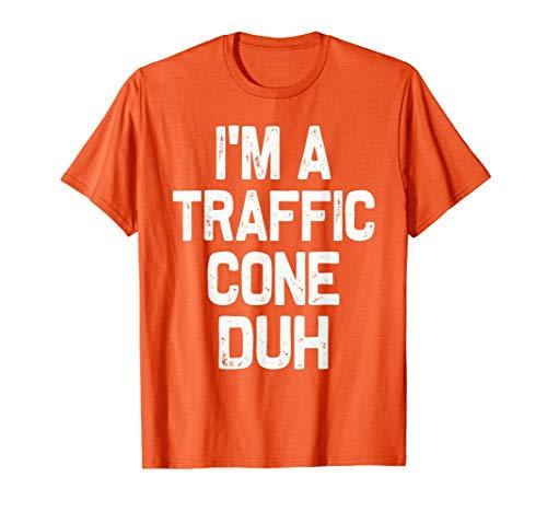 Cone Head Halloween (I'm a Traffic Cone Duh Halloween Costume)