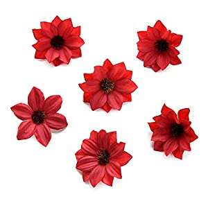 Silk Flowers in Bulk Wholesale Fake Flowers Heads Mini Rose Cloth Artificial Flower for Wedding Party Home Room Decoration Marriage Shoes Hats Accessories Silk Flower 80pcs 5cm 3