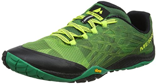 Merrell Men's Trail Glove 4 Sneaker Emerald 8.5 M - Merrell Green