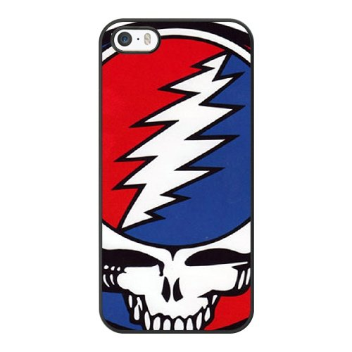 Coque,Coque iphone 5 5S SE Case Coque, The Grateful Dead Steal Your Face! Cover For Coque iphone 5 5S SE Cell Phone Case Cover Noir