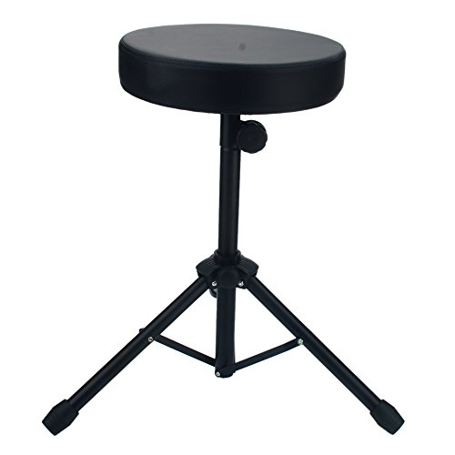 Universal Drum Throne Padded Drum Stool with Anti-Slip Feet Seat