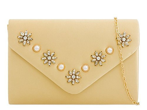 Haute Diva Ladies Navy Clutch Haute Diamante Bag For Gold Ladies For Diva 1w1xrqB