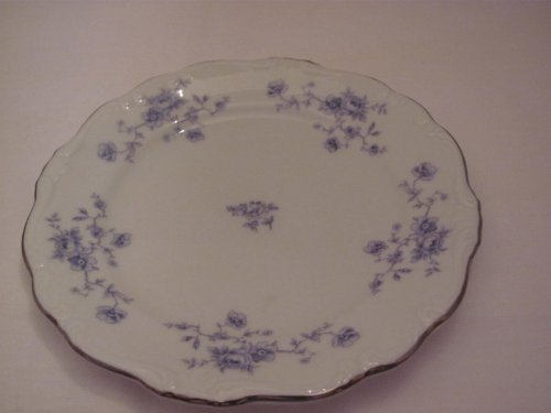 Blue Garland Bread Butter Plates - Vintage - BLUE GARLAND - Bread and Butter PLATE (approx. 6 1/4