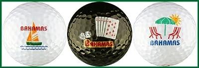 Bahamas Variety Golf Ball Gift Set