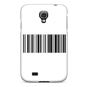 For Galaxy S4 Fashion Design Bar Code Case-DNwwqSP876EnSmd