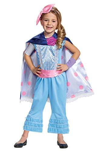 Costumes For 4 (Disney Pixar Bo Peep Toy Story 4 Deluxe Girls')