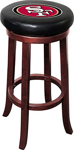 Imperial Officially Licensed NFL Furniture: Wooden Bar Stool, San Francisco (Ncaa Team Logo Bar Stools)
