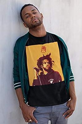 J Cole Illustration Unisex T-Shirt - Dreamville Festival Shirt - Cole World Shirt Gift T-Shirt for Men Woman