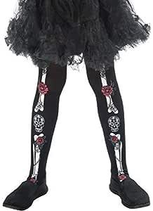Fancy Me niña Día de los Muertos Esqueleto Calavera Mexicano ...